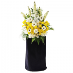 FS-42 BUY BLACK FUNERAL FLOWER STAND