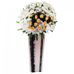 FS-31 BUY PINK FUNERAL FLOWER STAND