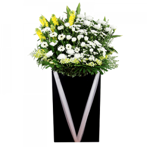 FS-55 BUY BLACK FUNERAL FLOWER STAND