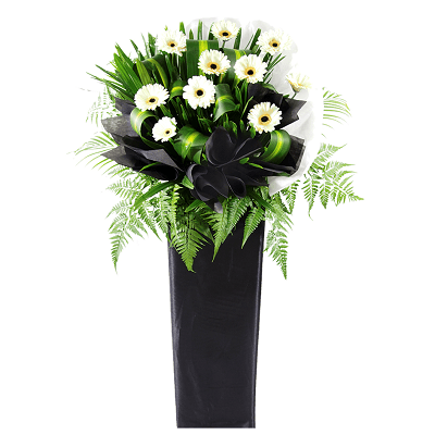 FS-73 BUY BLACK FUNERAL FLOWER STAND