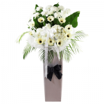 FS-08 BUY WHITE FUNERAL FLOWER STAND