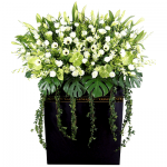 FS-77 BUY BLACK FUNERAL FLOWER STAND