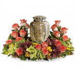 FUF-03 summer color FUNERAL URN FLOWERS