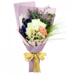 H-57 BUY PURPLE FUNERAL FLOWER BOUQUET