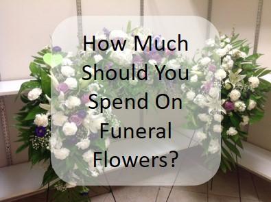 spending on sympathy flower